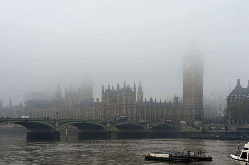 Самый известный туман-убийца в мире англия, лондон, погода, туман, туман-убийца, фото