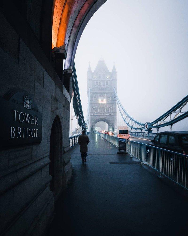 С тех пор в Лондоне не возникало подобных катастроф, однако видимость нередко бывает очень низкой англия, лондон, погода, туман, туман-убийца, фото