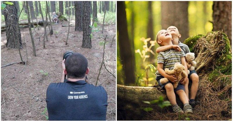 Как выглядят одни и те же места глазами обычного человека и профессионального фотографа дети, за кадром, интересное, ракурс, съемка, фотограф, фотография