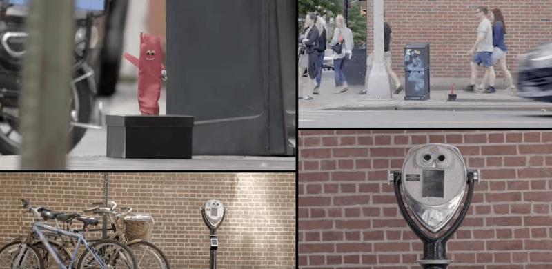 Вот так выглядели тайники: корзинка велосипеда, металлический ящик деньги, интересное, креатив, одежда, повезло, реклама, улица