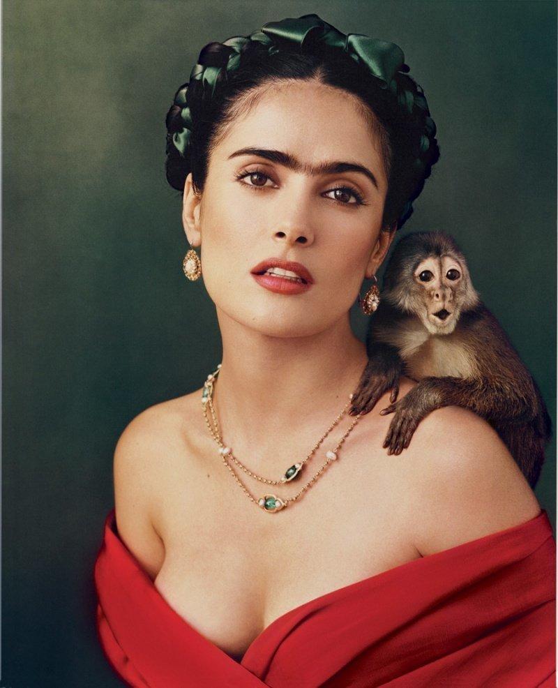 Сальма Хайек в роли Фриды Кало. фото, фотография, фотохудожник