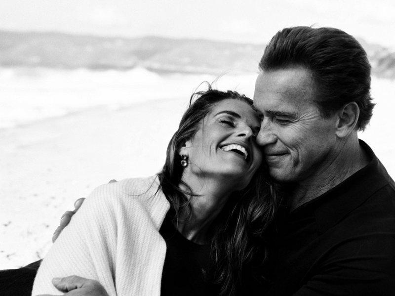 Арнольд Шварценеггер со своей женой Марией Шрайвер. фото, фотография, фотохудожник