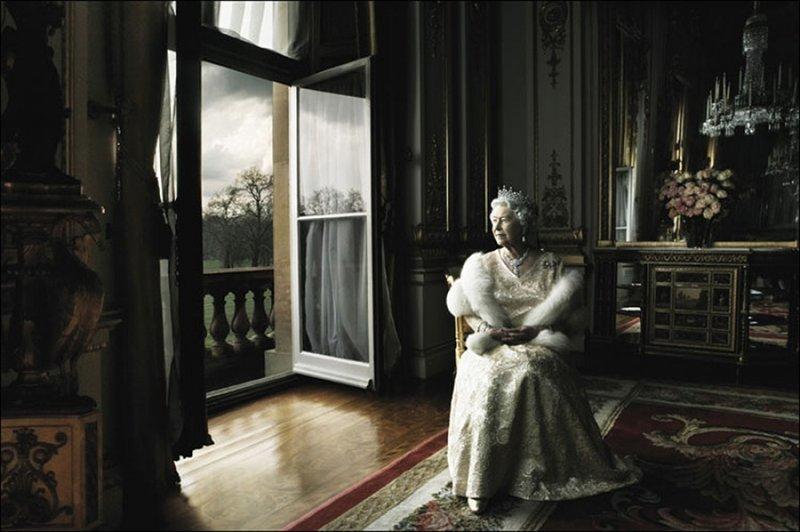 Королева Великобритании Елизавета Вторая. фото, фотография, фотохудожник