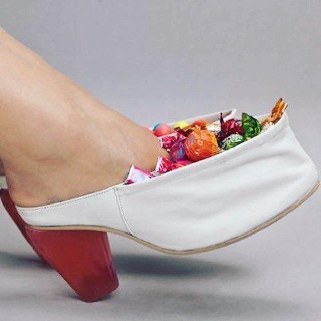 3. Хороший вариант для сладкоежек видео, дизайн, интересное, маразм, мода, обувь, подборка