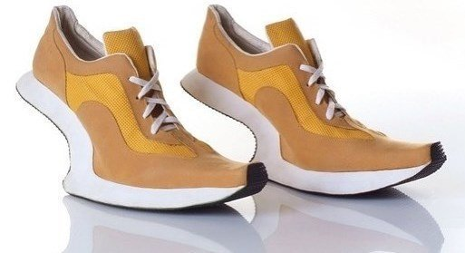 10. Устойчивость такой обуви вызывает большие сомнения видео, дизайн, интересное, маразм, мода, обувь, подборка