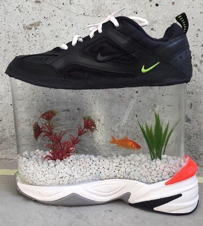 21. «Без свои рыбок никуда не уйду» видео, дизайн, интересное, маразм, мода, обувь, подборка