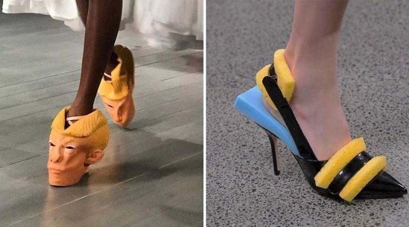 25 странных пар обуви, которые вы никогда не станете покупать видео, дизайн, интересное, маразм, мода, обувь, подборка