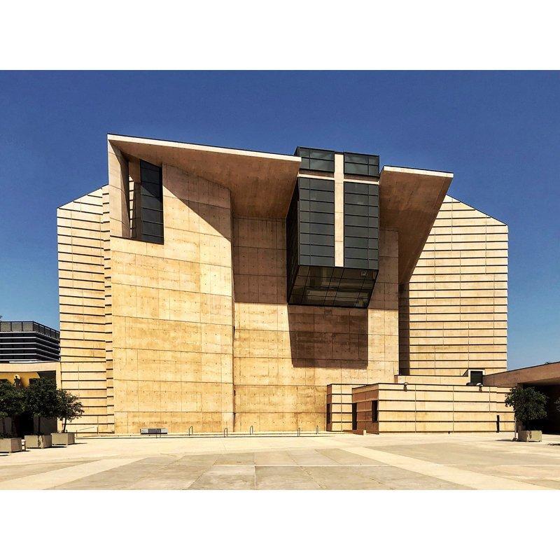 Католическая церковь, Калифорния Deconstructivism, архитектура, деконструктивизм, здания, необычная архитектура, строения