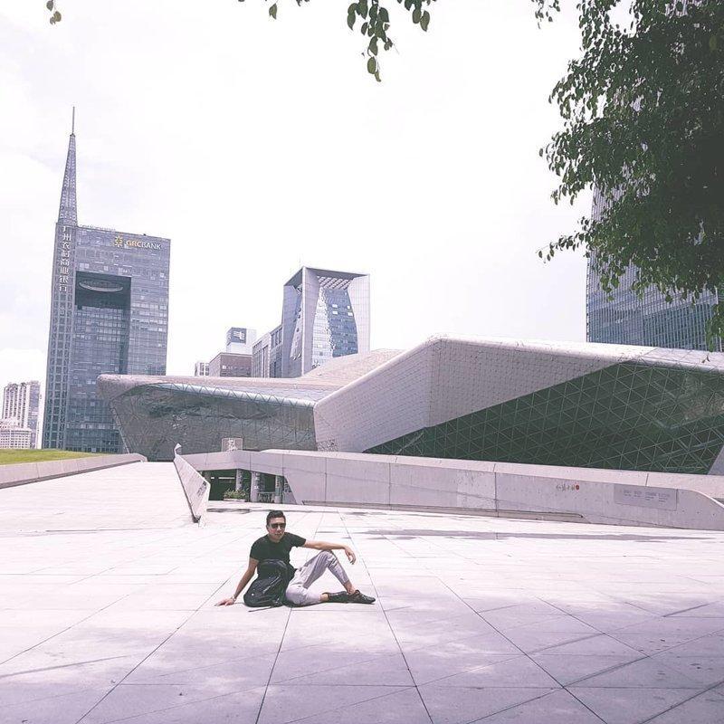 Оперный театр Гуанчжоу Deconstructivism, архитектура, деконструктивизм, здания, необычная архитектура, строения
