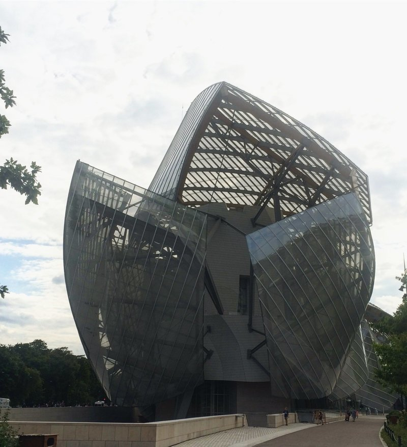 Фонд Louis Vuitton Deconstructivism, архитектура, деконструктивизм, здания, необычная архитектура, строения