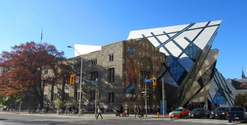 Королевский музей Онтарио Deconstructivism, архитектура, деконструктивизм, здания, необычная архитектура, строения