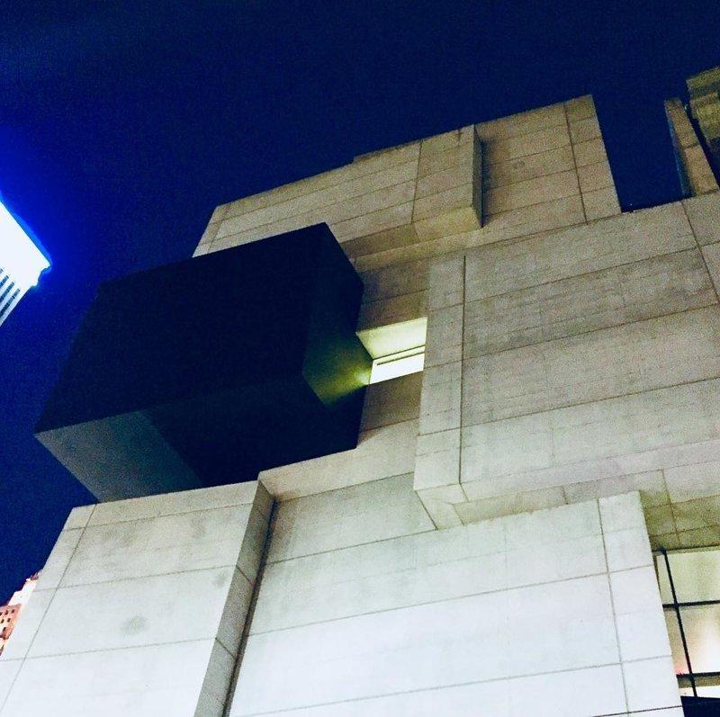 Центр современного искусства Розенталя, Цинциннати Deconstructivism, архитектура, деконструктивизм, здания, необычная архитектура, строения