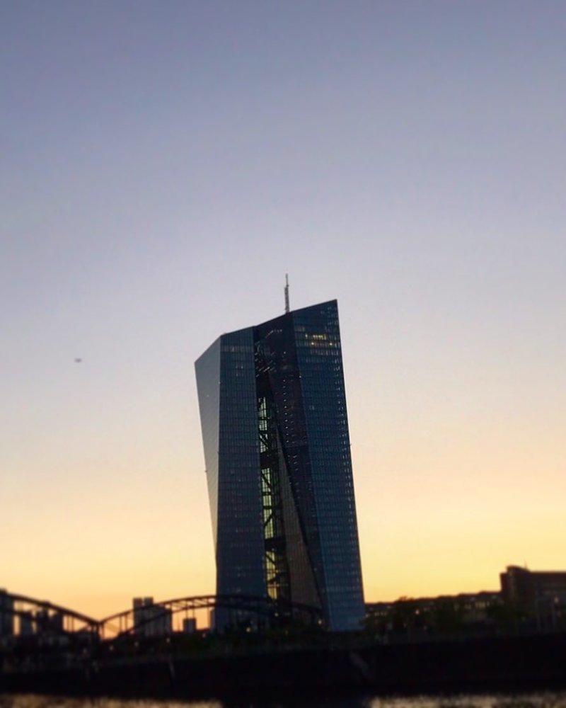 Европейский Центральный банк Deconstructivism, архитектура, деконструктивизм, здания, необычная архитектура, строения