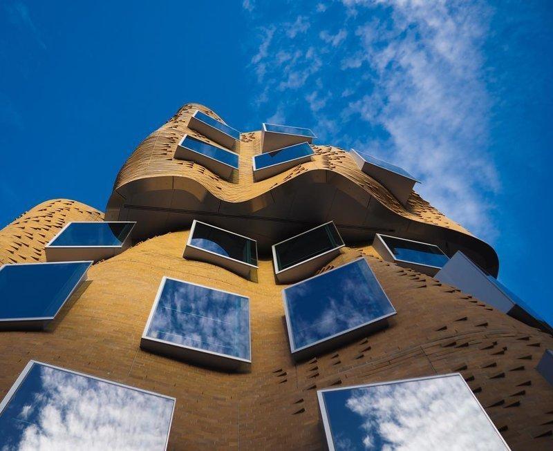 Общественный университет в Сиднее Deconstructivism, архитектура, деконструктивизм, здания, необычная архитектура, строения