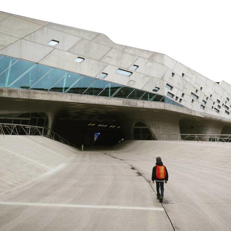 """Музей науки """"Фаэна"""", Германия Deconstructivism, архитектура, деконструктивизм, здания, необычная архитектура, строения"""