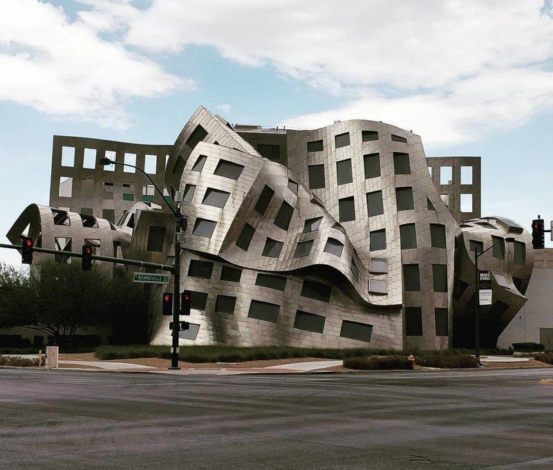 Центр событий Фонда Keep Memory Alive Deconstructivism, архитектура, деконструктивизм, здания, необычная архитектура, строения