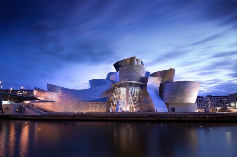 Музей Гуггенхайма в Бильбао Deconstructivism, архитектура, деконструктивизм, здания, необычная архитектура, строения