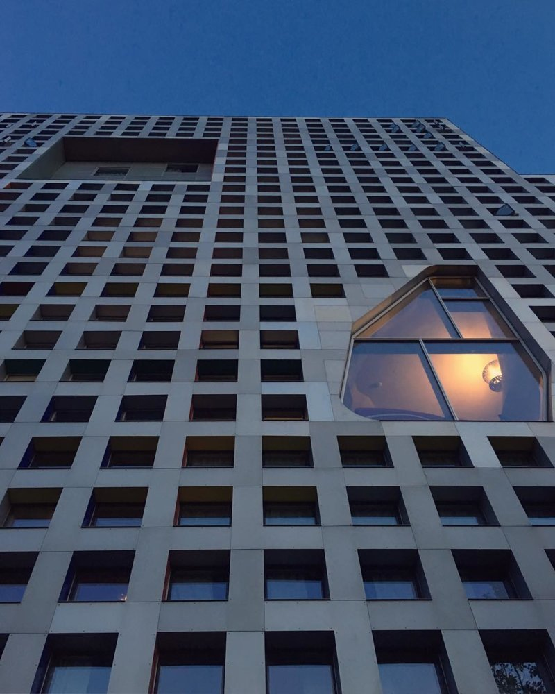 Корпус MIT, Кембридж Deconstructivism, архитектура, деконструктивизм, здания, необычная архитектура, строения