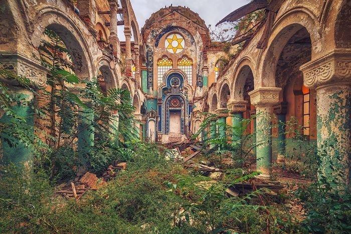 Заброшенные здания Европы в объективе Маттиаса Хакера архитектура, европа, здание, разруха, творчество, фотограф, фотомир