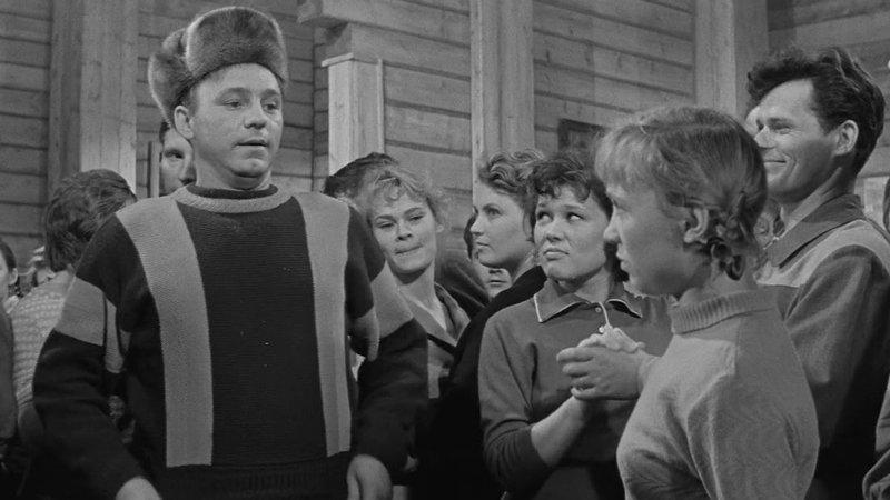 «Девчата», 1961 Российское кино, кино, культовые фильмы, советское кино, фильмы