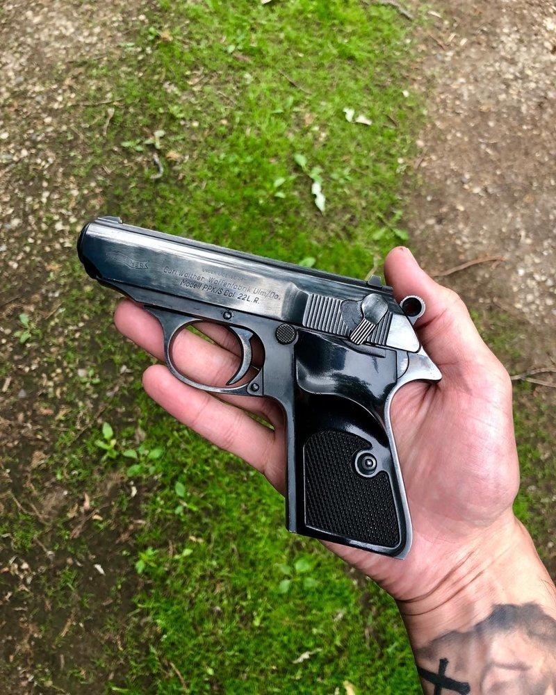 Walther PPK/S америка, американцы, оружие, сша, штаты