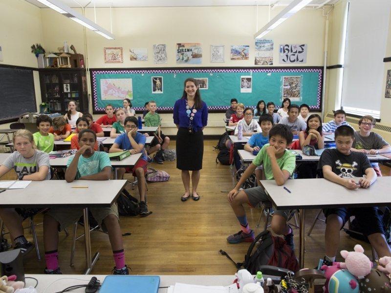 США классы, образование, обучение, познавательно, путешествие, школы, школьники, это интересно