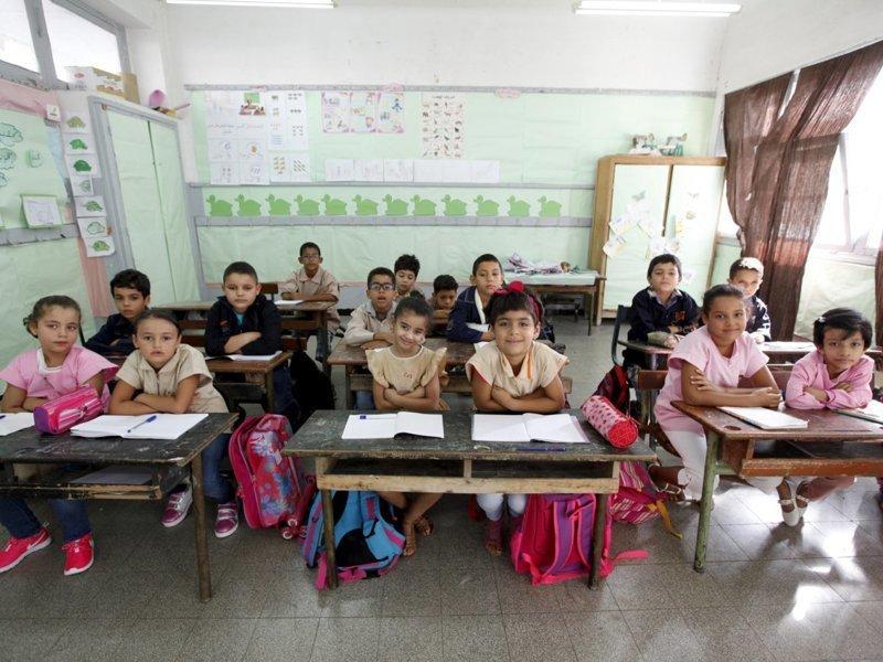 Тунис классы, образование, обучение, познавательно, путешествие, школы, школьники, это интересно