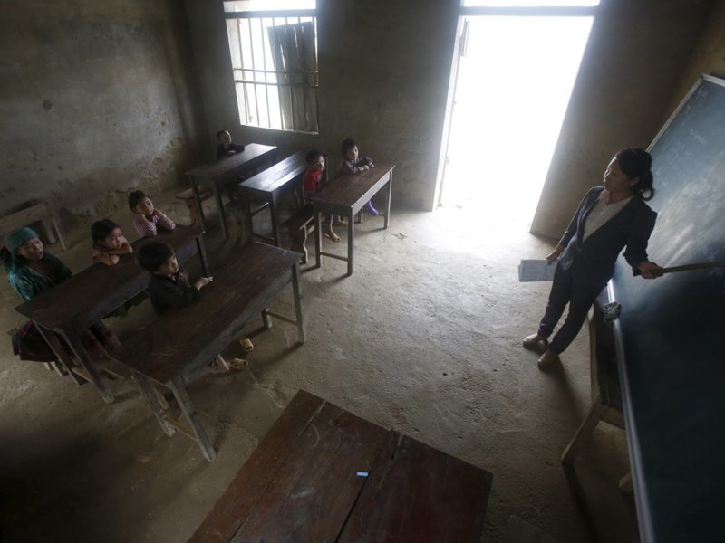 Вьетнам классы, образование, обучение, познавательно, путешествие, школы, школьники, это интересно