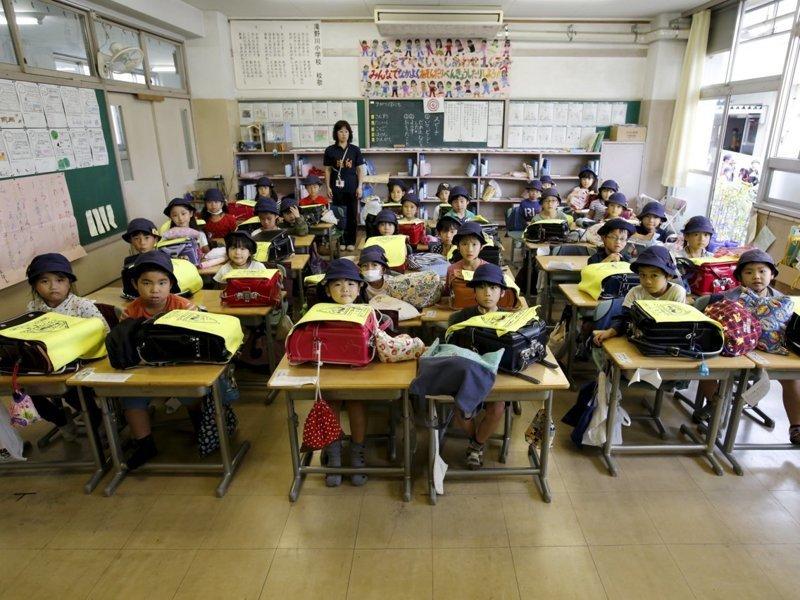 Япония классы, образование, обучение, познавательно, путешествие, школы, школьники, это интересно