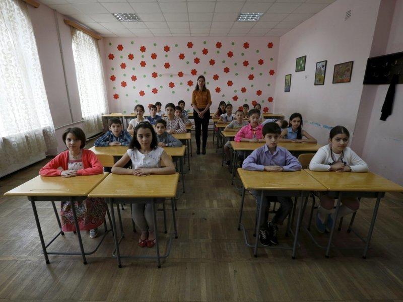 Грузия классы, образование, обучение, познавательно, путешествие, школы, школьники, это интересно