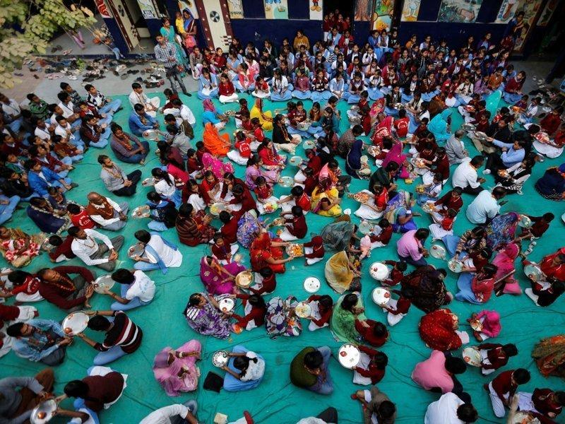 Индия классы, образование, обучение, познавательно, путешествие, школы, школьники, это интересно