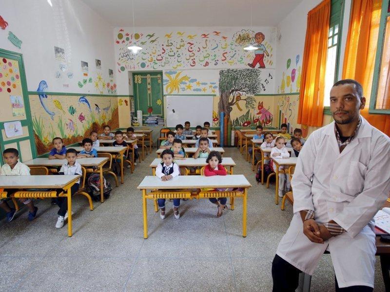 Марокко классы, образование, обучение, познавательно, путешествие, школы, школьники, это интересно