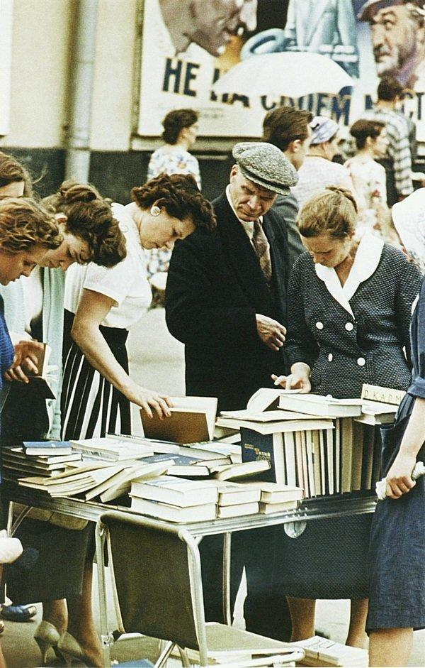 Москва, 1960-ые годы. СССР, история, фотографии в цвете