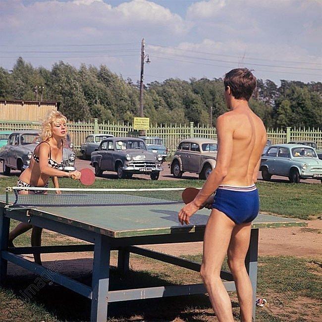 Московская область, Туристическая база, 1967 СССР, история, фотографии в цвете