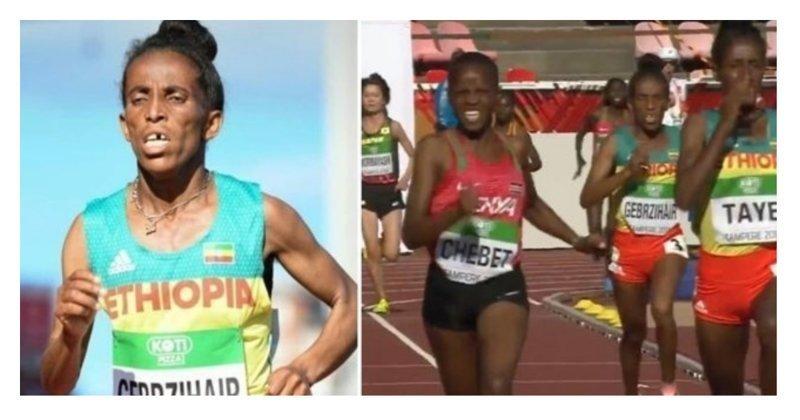 16-летняя бегунья стала третьей в забеге, но зрители усомнились в ее возрасте Girmawit GEBRZIHAIR, ynews, возраст, обман, соревнования, спорт