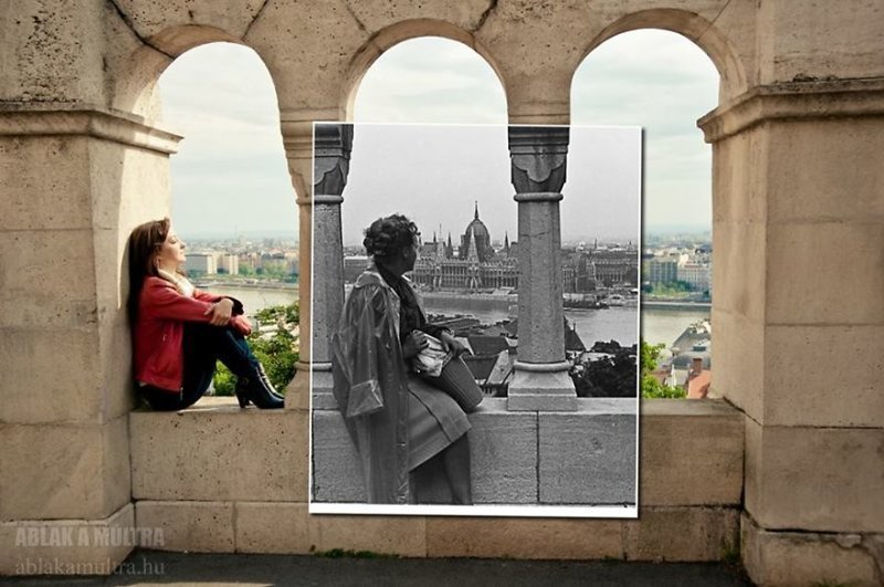 Днем, картинки прошлое и настоящее