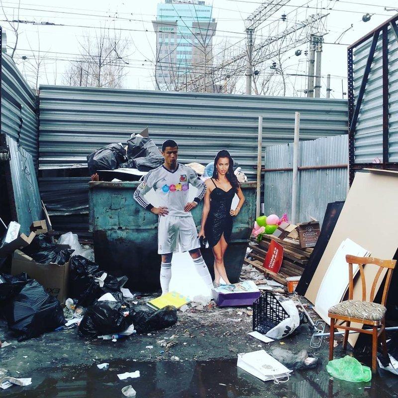 18. Списали со счетов мусорка, помойка, помойное ведро, россия, свалка, фото