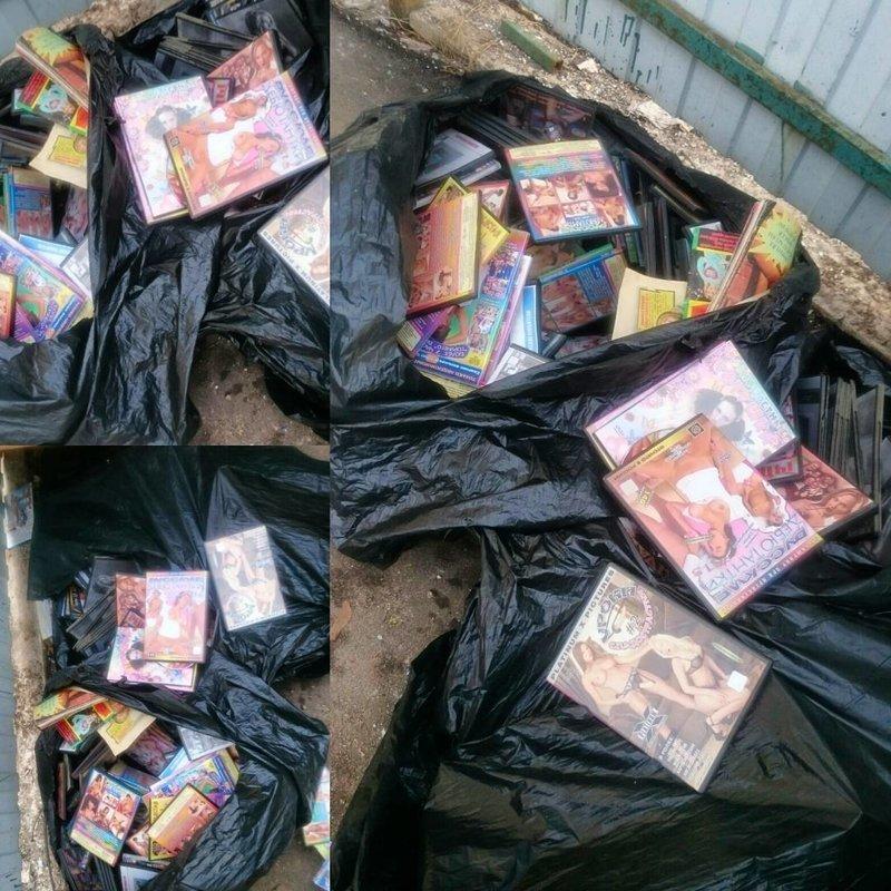 9. Когда наконец появилась девушка мусорка, помойка, помойное ведро, россия, свалка, фото