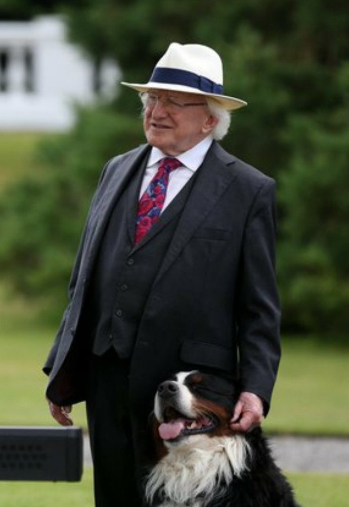 3. А они - его. в мире, интересные люди, ирландия, народная любовь, политика, политики, президент, фото