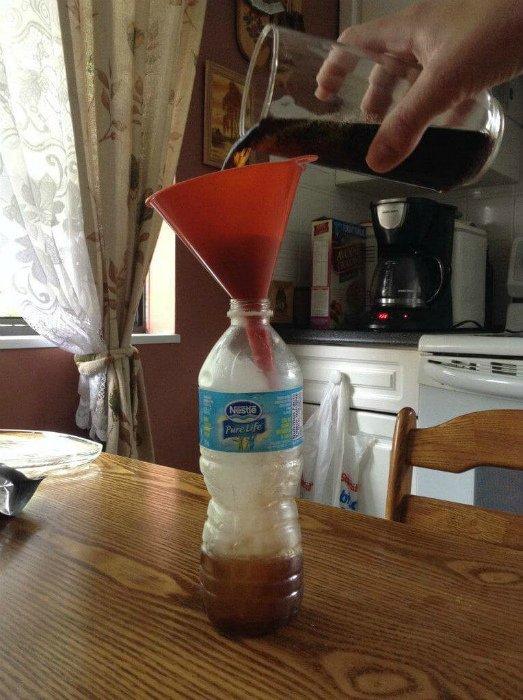 3. Сохранение холодных напитков Лайфхак, жара, лето, мята, пот, спасение, холод