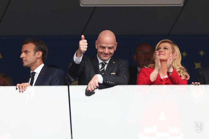VIP-Зрители (портрет Черчесова сзади) спорт, франция, футбол, чм2018