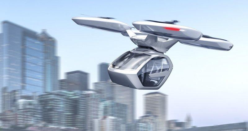 Концепция Pop.Up Next подразумевает использование одной пассажирской капсулы, которая, в зависимости от потребностей людей, будет объединяться либо с модулем на колёсах, либо с летающим модулем. airbus, audi, авто, автомобили, будущее, концепт, концепт-кар, летающий автомобиль