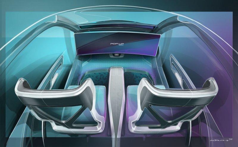 Спросите, а как же управлять вот этим всем? А никак! airbus, audi, авто, автомобили, будущее, концепт, концепт-кар, летающий автомобиль
