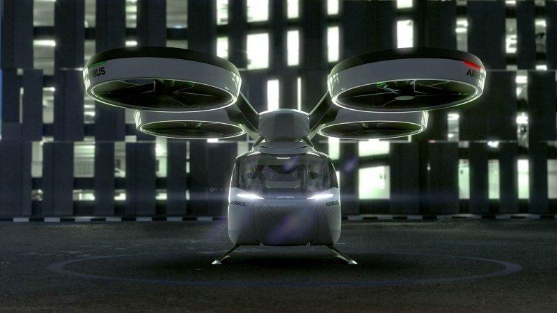 И несмотря на то, что в Женеве Pop.Up Next был представлен исключительно как прототип будущего, но уже идёт речь об испытании реальных образцов необычного проекта! Причём не на полигоне, а в городе! airbus, audi, авто, автомобили, будущее, концепт, концепт-кар, летающий автомобиль