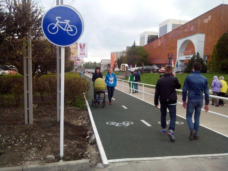 Картинки по запросу фото пешеход на велодорожке