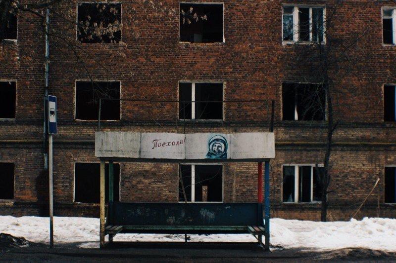 Провинциальные автобусные остановки архитектура, город, общественный транспорт, остановка, снг, эстетика