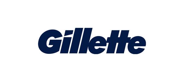 """2. Буквы """"G"""" и """"i"""" в лого Gillette """"подрезаны"""" острой бритвой, что как бы намекает на основной продукт бренда бренд, интересно, логотип, послания"""