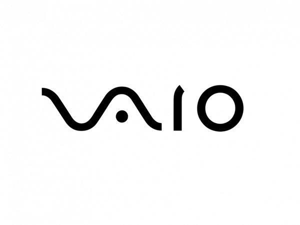 """3. В логотипе уже не продающихся ноутбуков Sony Vaio скрыто сразу два образа — аналоговая """"волна"""", а также единичка и ноль цифрового сигнала бренд, интересно, логотип, послания"""