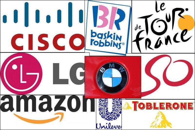 14 брендов, в логотипах которых содержатся тайные послания бренд, интересно, логотип, послания