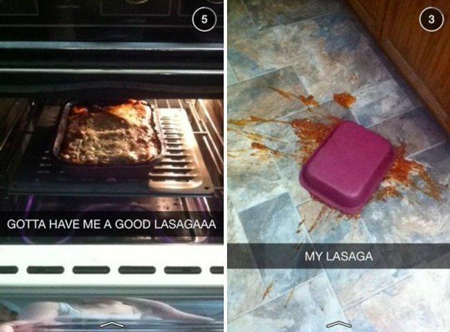 Твоя лазанья в реальной жизни Instagram, в мире, еда, разница, реальность, фото